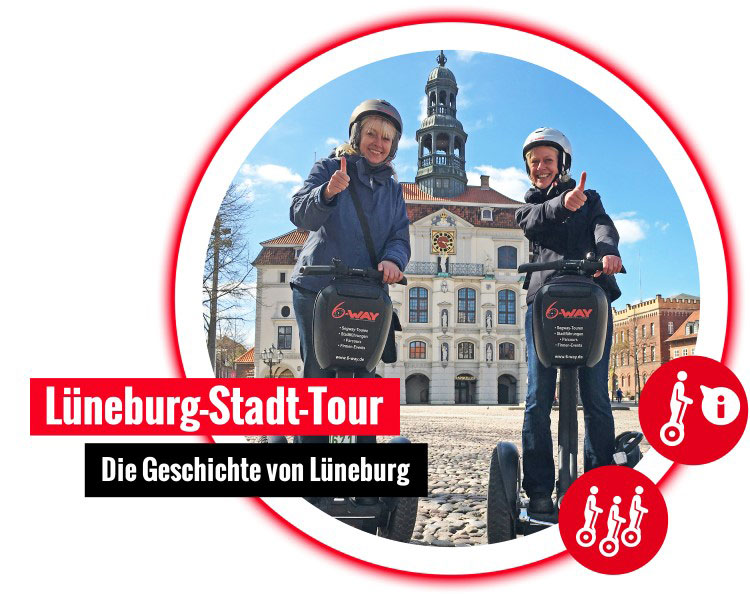 6 way Lueneburg stadt segway tour