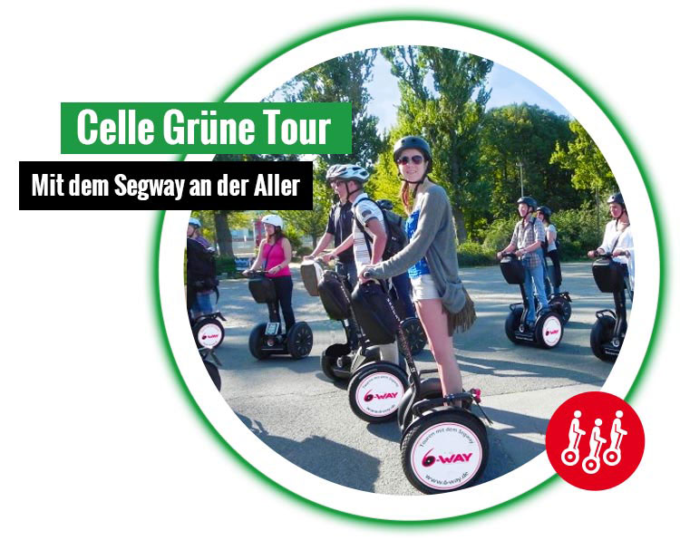 6 way celle gruene segway tour