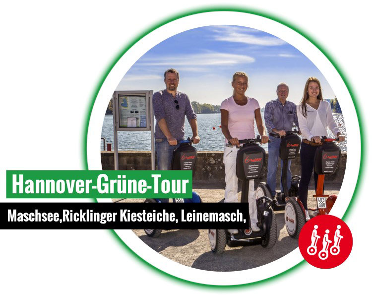6 way hannover gruene segway tour Andere