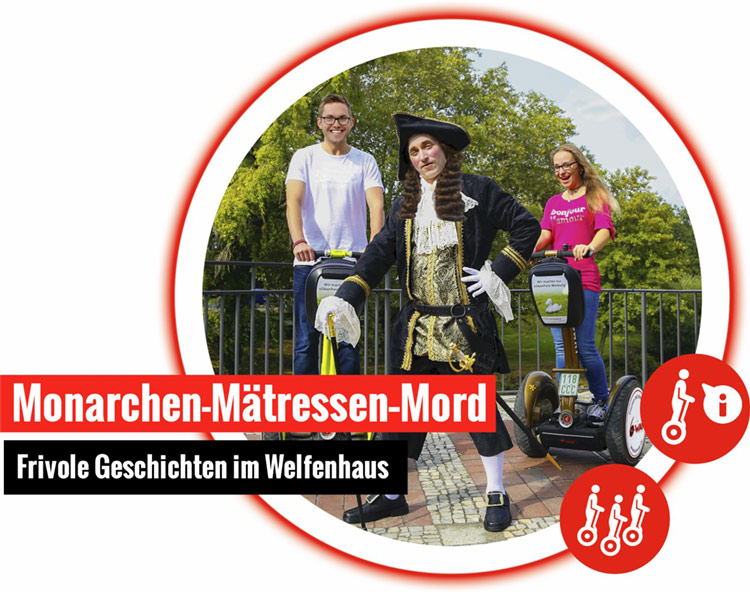 6 way monarchen segway tour