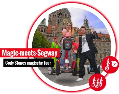 Magic Meets Segway Mobile